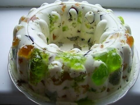 """Желейный торт """"Битое стекло"""""""