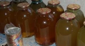 Готовый березовый сок