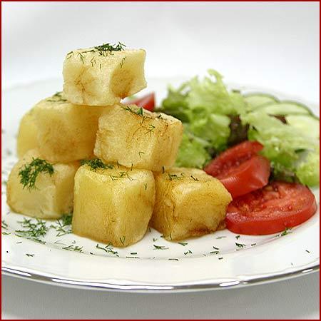 картошка молодая