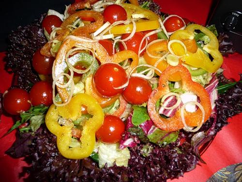 Свежий салат рецепт