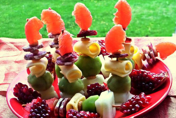 шашлык фруктовый