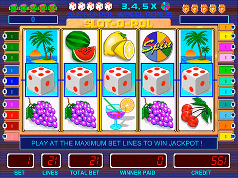 Игровые автоматы Slot-o-pol deluxe