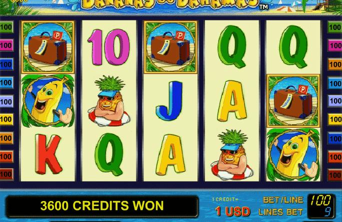 Бананы на Багамах - слоты, игровые автоматы