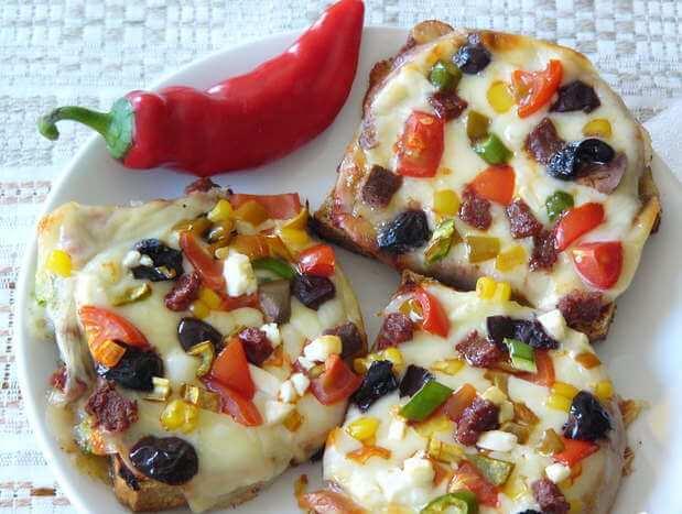 пицца ленивая